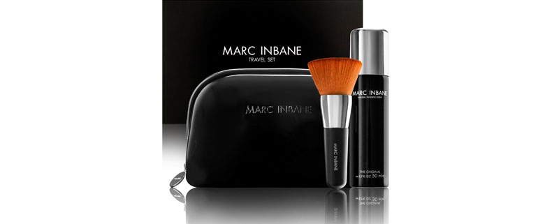MARC INBANE natural tanning spray Travelset