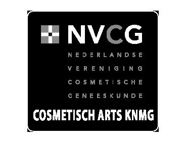 logo cosmetisch arts KNMG